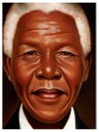 Nelson Mandela, words and paintings by Kadir Nelson